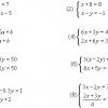 連立方程式